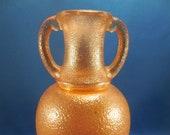 Carnival Glass - Soda Gold Amphora Urn Vase by Turner Brother 39 s