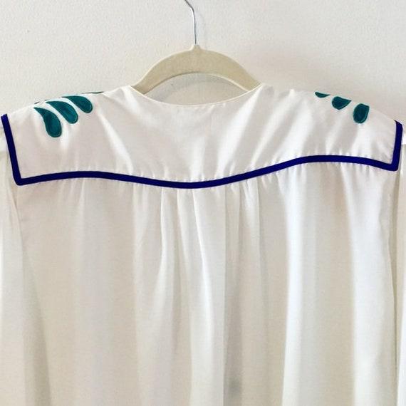 Eighties blouse / Vintage secretary blouse - image 3