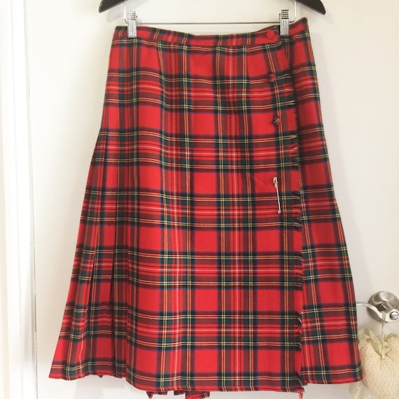 Aljean of Canada long kilted skirt // Women's kilt