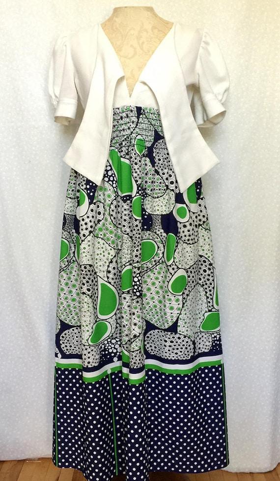 Vintage Arpeggio Missy Petite maxi dress - image 2