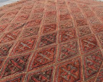 Discounted Price Mushwani rug Handmade Rug Afghan Rug 7x5 Baloch Rug Barjasta rug Turkmen Rug 6.3 x 4.10 Ft Oriental Rug Kilim rug