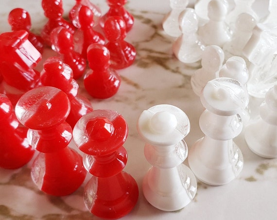 Chess Set - Custom Options Available Too! - Made In Resin