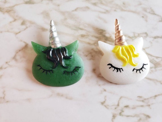 Unicorn With Bangs - Magnet - Resin Magnet