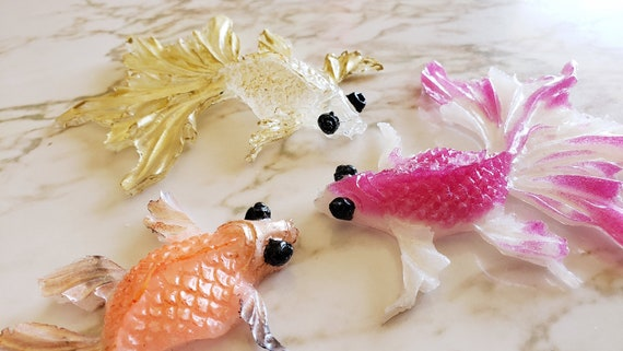 Fancy Fish - Magnet Options Available - Made In Resin