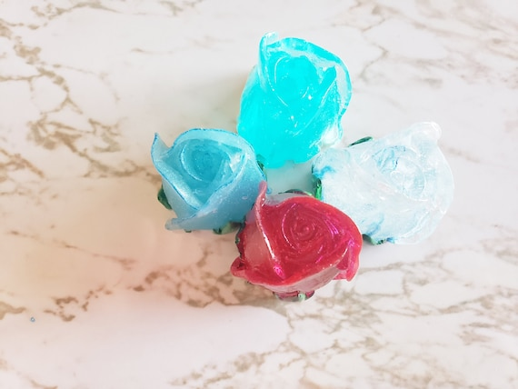 Rose Buds- Set of 4 - Made in Resin