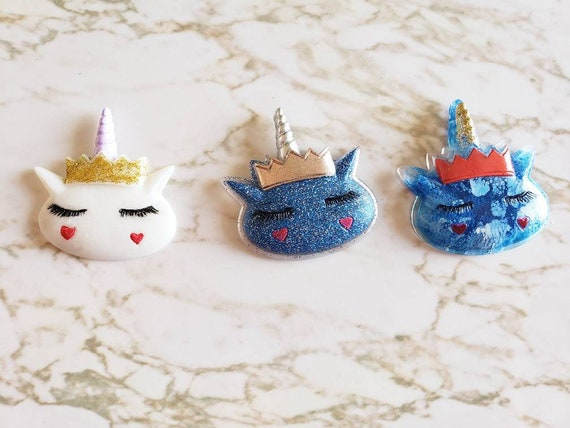 Unicorn With Crown - Magnet - Resin Magnet