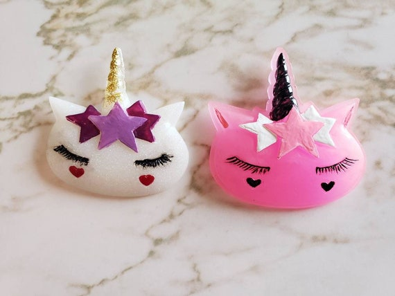 Unicorn With Stars - Magnet - Resin Magnet