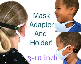Mickey Kid Size Face Mask Extender// Ear Saver Set of 3