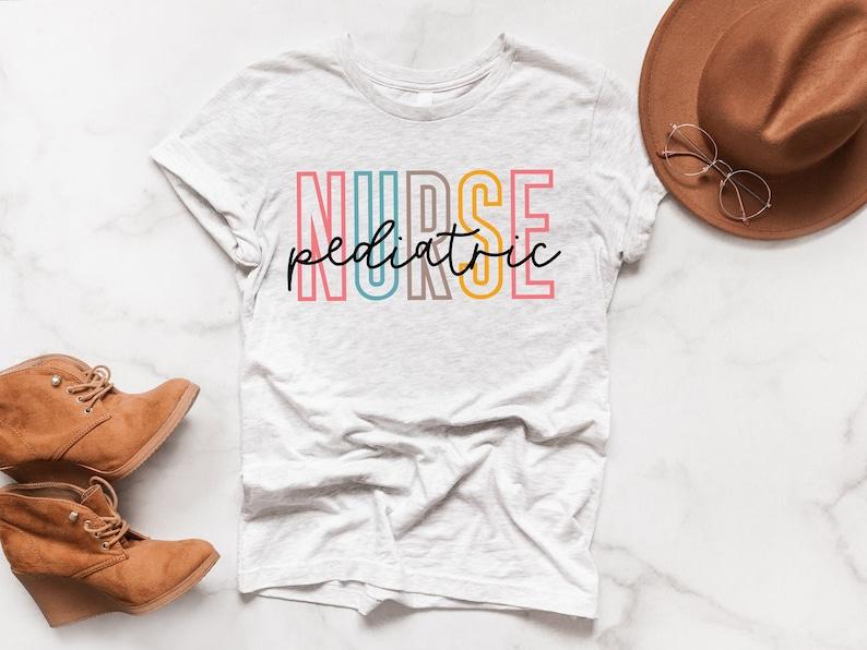 Gearhuman – Pediatric Nurse T-shirt Shirts Peds Nurse Shirt Pediatrics – 3D Tshirt – TH-0059