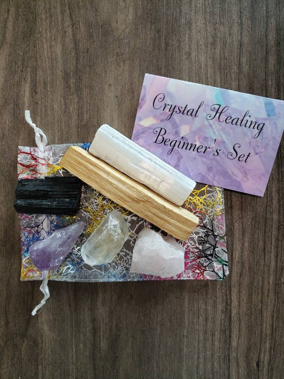 Beginner Crystal Healing Set with Palo Santo