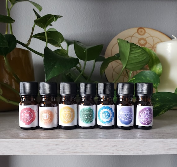Chakra Healing Essential Oil Blend - Therapeutic Grade Essential Oil Blend for Balancing the Chakras