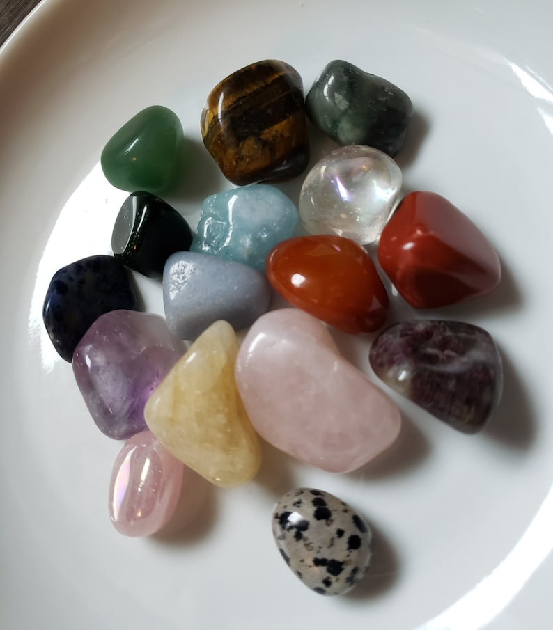 Pick A Stone Various Tumbled Stones to Choose From Single Stone