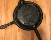 Griswold 8 American waffle iron