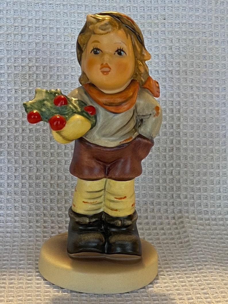 Authentic Goebel M.I Hummel Figurine CHRISTMAS CAROL HUM #2073B TM8 Goebel Germany