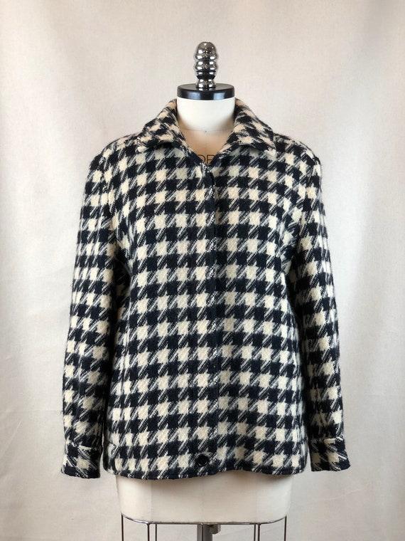 Pendleton Houndstooth Coat
