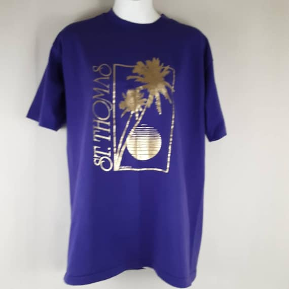 Vintage Hanes Fifty-fifty St Thomas T-shirt Size L