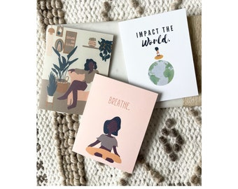 """3 Pack Cards + Envelopes 