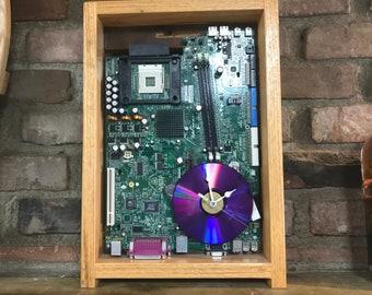 Computer Motherboard Clock #1034