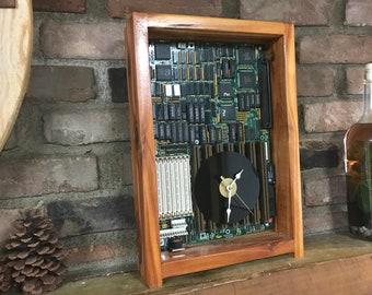 Computer Motherboard Clock #1049