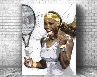 Serena Williams Tennis Sport Player Super Star 14 24x36 Poster G-525