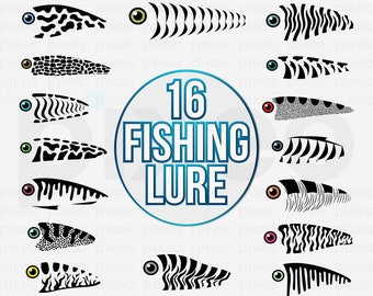 Download Fishing Lure Tumbler Svg Etsy
