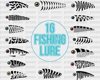 Download Fish Lure Tumbler Wrap Lt119 Svg File