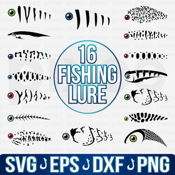 Download Patterns Fishing Lure Tumbler Svg