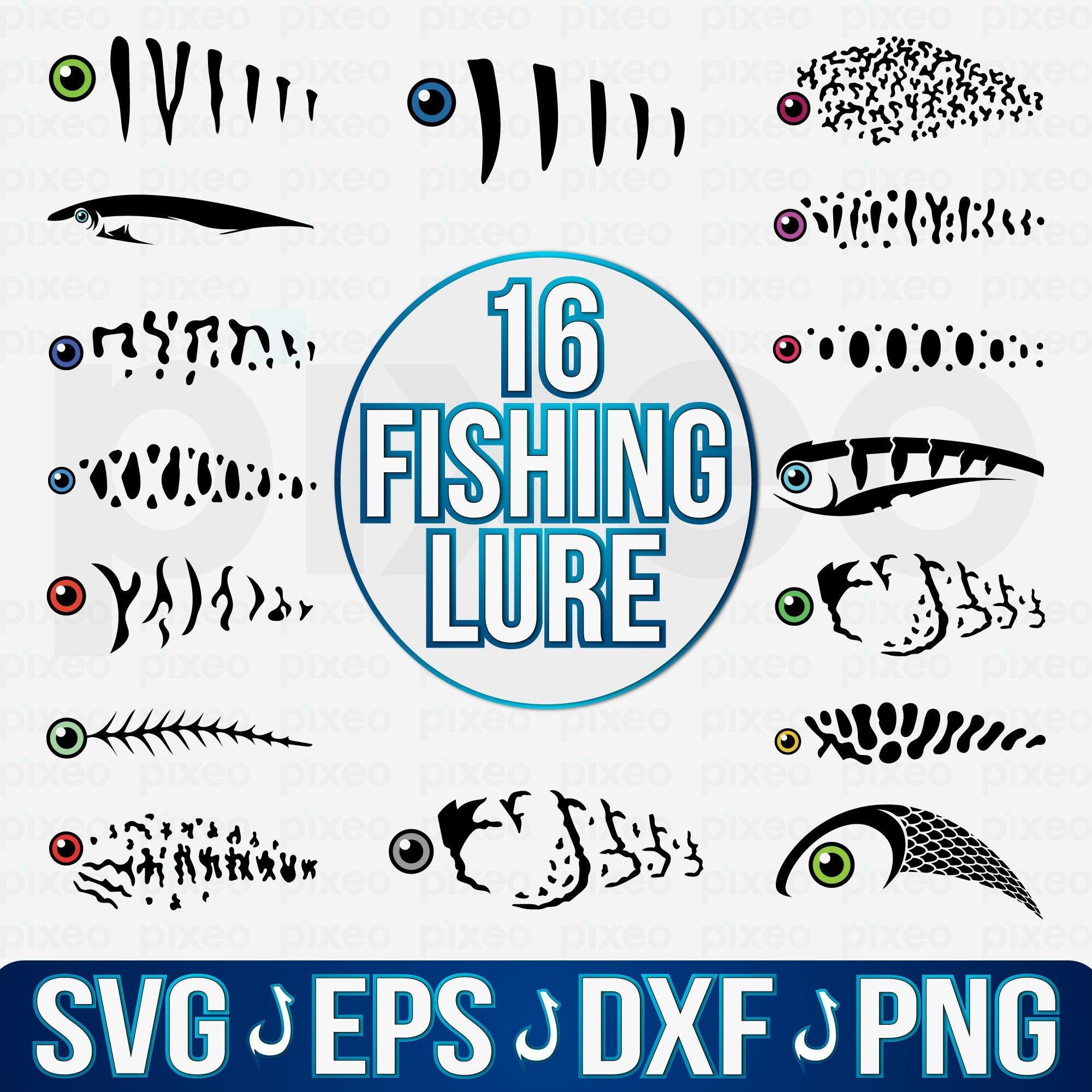 Download Fishing Lure Svg Fishing Lure Pattern Svg Fishing Lure Etsy