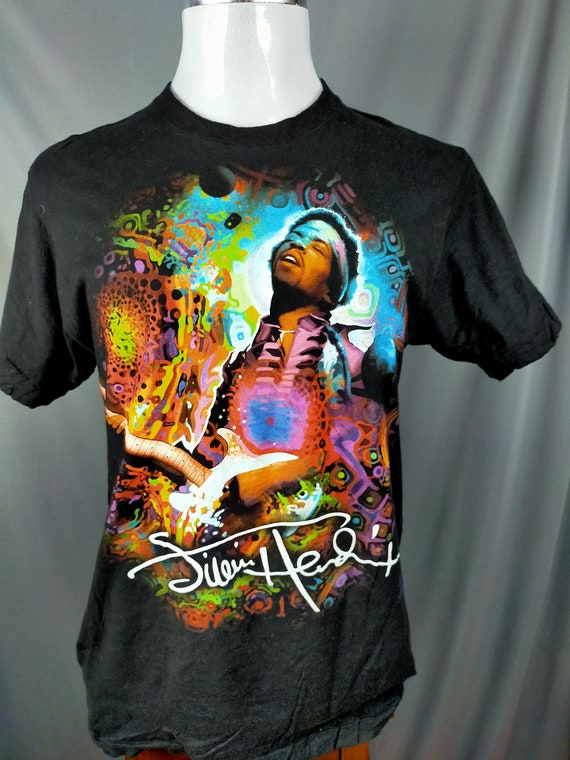 Jimi Hendrix X Copyright X Rock band tees