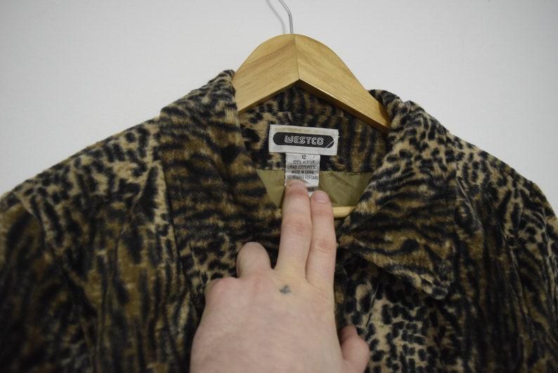 Vintage Leopard Print Jacket