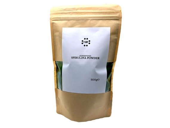 Spirulina Powder Food and Cosmetic Grade Superfood 500g