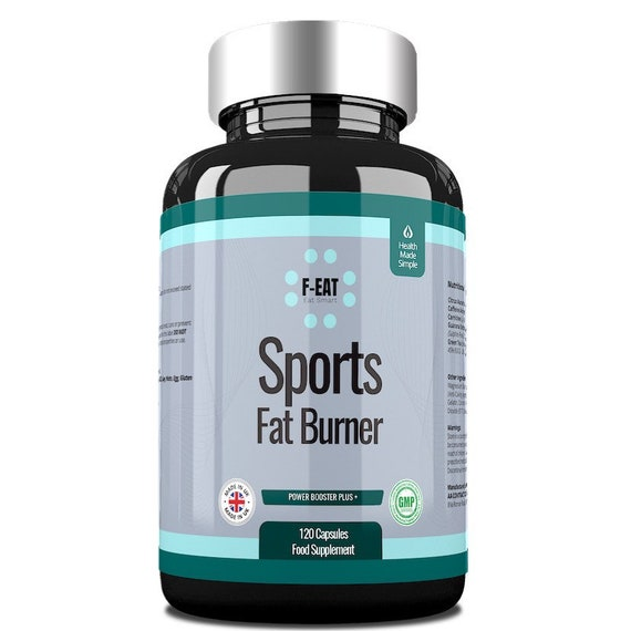 120 Tablets Natural Sports Fat Burner and Weight Loss 2 Month Supply