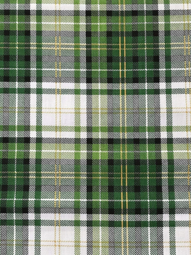 Green Plaid Perfect for St. Patrick's Day Holiday 100% image 0