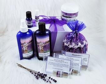 Lavender Healing Gift Box Free Shipping