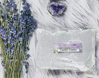 Lavender laundry tumblers. Three pack. (Vegan)