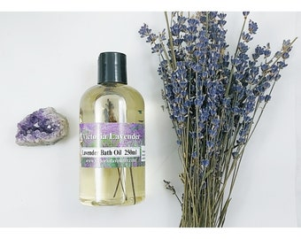 Luxury lavender bath oil. (Vegan)