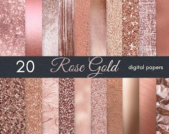 Rose Gold Foil Etsy