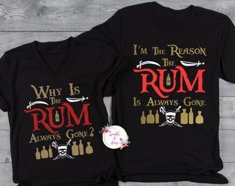 I/_M The Reason WHY The Rum is All Gone Women Sweatshirt tee
