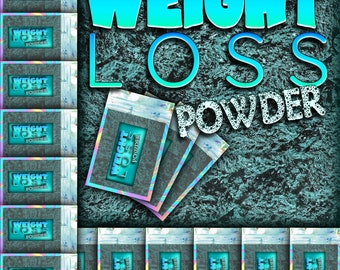WEIGHT LOSS Powder Witch Powder, Weight Loss, Hoodoo Powder, Sachet Powder, Spell Powder, Witchy Spells, Witch spell, Voodoo, Spell, Witch