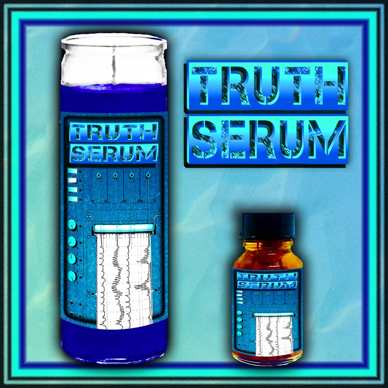 TRUTH SERUM Spell Candle Oil or Spell Kit Witch kit Witchy Candle/Oil Spell Kit