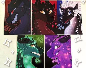 WoF - Darkstalker: Legends Portraits [A5 Prints]