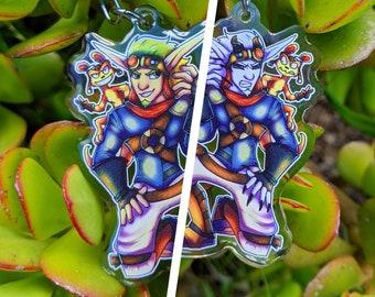 Jak and Daxter [ Acrylic Charm ]