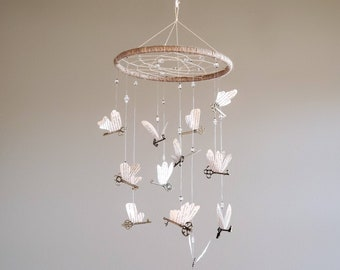 Magical | Wizard | Alohomora | Flying Keys | Mobile | Baby | Nursery | Shower | Party | Wedding | Party | Dream Catcher | Decor | Gift