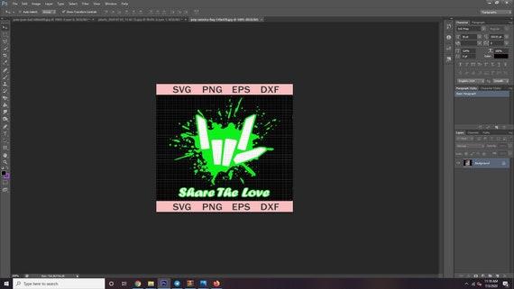 Share Love Png Share The Love Png Share Love Cute For Kids Etsy