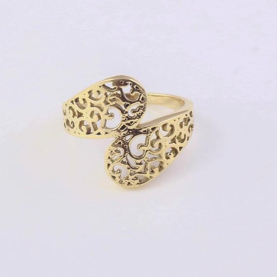 handmade ring,brass ring,boho ring,women ring,lover ring A gift for girl,brass ring collation,wedding jewelry Beautiful design brass ring