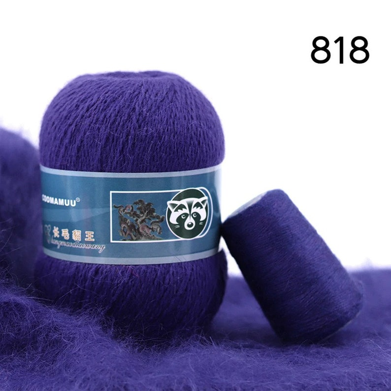 Anti-pilling Quality Hand-Knitting Thread For Sewing 79 Colors for Choose 50+20gset Long Plush Mink Cashmere Yarn