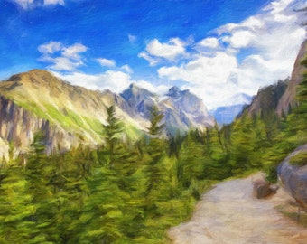 Commission landscape painting from photo, Custom oil painting from photo, Personalized oil painting, Custom landscape oil painting
