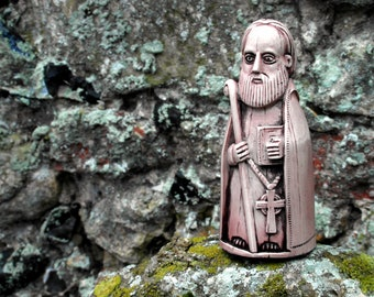 St Columba : Lewis Chess Piece Inspired