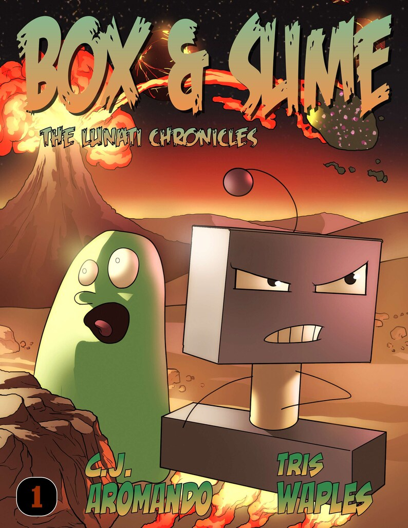 Box & Slime: The Lunati Chronicles 1  Digital PDF Comic image 0