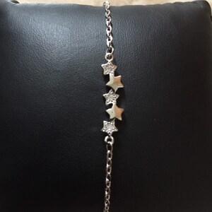 Silver bracelet chain thick women\u2019s bracelet chain REF:A64-7